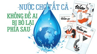 Nhu cầu về nguồn nước cho sinh hoạt và sản xuất đang gia tăng nhanh chóng, đặt ra những thách thức to lớn về an ninh nguồn nước