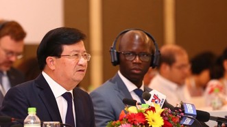 Phó Thủ tướng Chính phủ Trịnh Đình Dũng phát biểu tại VBF giữa kỳ 2019