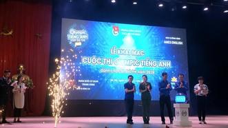 Lễ khai mạc cuộc thi Olympic tiếng Anh dành cho cán bộ trẻ 2019