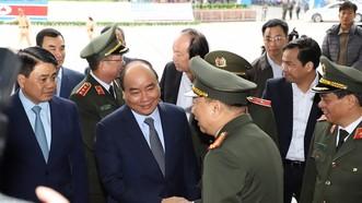 Thủ tướng kiểm tra Trung tâm báo chí phục vụ Hội nghị thượng đỉnh Mỹ - Triều