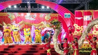 第五郡今起表演龍獅歌舞慶元宵。
