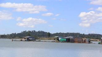 Sông Sê San đoạn qua xã Ia Tơi