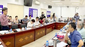 Sở KH-CN TPHCM cùng các nhà khoa học, doanh nghiệp, startup xây dựng Trung tâm Khởi nghiệp sáng tạo TPHCM. Ảnh: T.BA