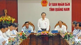 Quảng Nam cần tập trung xây dựng tỉnh công nghiệp