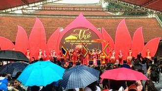 Đội mưa đến với Ngày thơ Việt Nam 2019