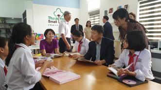 Bộ VH-TT-DL Hàn Quốc khánh thành 3 thư viện tại Nam Định