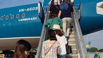 Vietnam Airlines tăng 47 chuyến bay/ngày dịp cao điểm hè