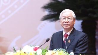 Tổng Bí thư Nguyễn Phú Trọng phát biểu chỉ đạo Đại hội Đoàn toàn quốc lần thứ XI