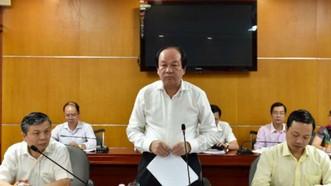 政府辦公廳主任梅進勇部長在工商部召開了關於進出口專業檢查會議。(圖源:互聯網)