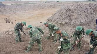 Bộ Tư lệnh TPHCM nói về kết quả tìm hài cốt liệt sĩ ở sân bay Tân Sơn Nhất