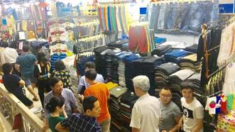 Bí thư Thành ủy TPHCM Nguyễn Thiện Nhân thăm chợ An Đông