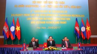Không để các thế lực xấu bôi nhọ, làm sai lệch mối quan hệ Campuchia - Lào - Việt Nam