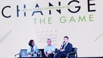 """Diễn đàn lãnh đạo trẻ Việt Nam 2017: """"Change the game – Thay đổi cuộc chơi"""""""