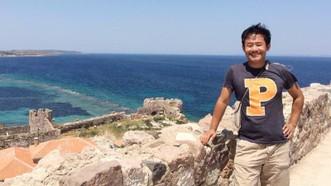 Xiyue Wang bị bắt ở Iran vào tháng 8-2016. Ảnh do gia đình Wang công bố qua Đại học Princeton ở New Jersey, Mỹ.