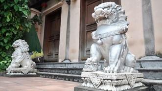 Linh vật ngoại lai xuất hiện nhiều trong các di tích ở Việt Nam
