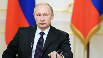 Tổng thống Nga Vladimir Putin tuyên bố tranh cử tổng thống năm 2018