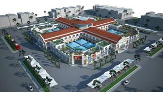Phối cảnh Trung tâm thương mại Long Hoa
