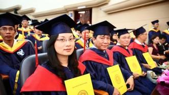 tỷ lệ giảng viên có trình độ tiến sĩ ở nước ta hiện nay khoảng 21%. Ảnh minh họa
