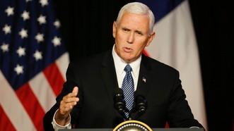 近日美國副總統彭斯要求一些拉美國家與朝鮮斷交。(圖源:路透社)