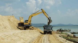 越南繼續實現不向外國出口任何種類沙子的主張。(示意圖源:互聯網)