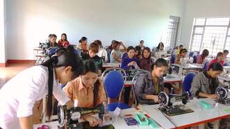 """去年是首年開展新農村建設國家目標計劃的""""提高農村勞工職技培訓質量""""內容,約170萬人接受培訓 。(示意圖源:互聯網)"""