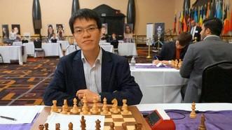 我國棋手黎光廉奪得2017年AIMAG金牌。