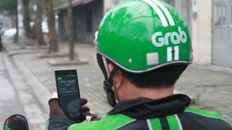 """網約""""GrabBike""""摩的容易成為犯罪分子搶劫的目標。(示意圖源:互聯網)"""