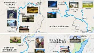 大勒免費派發兩種旅遊地圖。(示意圖源:互聯網)