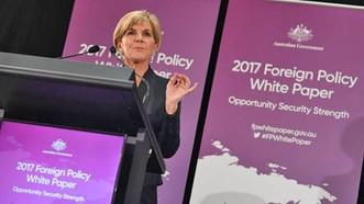 圖為澳大利亞聯邦外長畢曉普(Julie Bishop)。