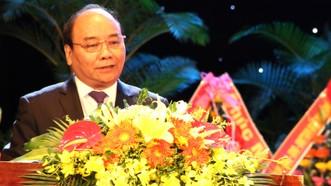 Thủ tướng Nguyễn Xuân Phúc phát biểu tại buổi lễ