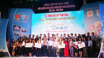Các cá nhân, tập thể được trao giải Giải thưởng Sinh viên nghiên cứu khoa học - Euréka lần thứ 19
