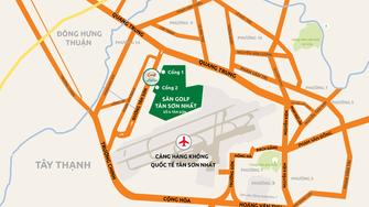Sân bay Tân Sơn Nhất đang quá tải từ nhà ga, thiếu nơi đỗ máy bay... trong khi cạnh bên có hơn 150ha đất được dùng làm sân golf