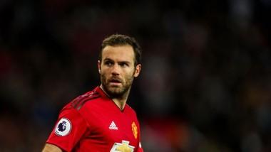 Juan Mata trong màu áo Manchester United
