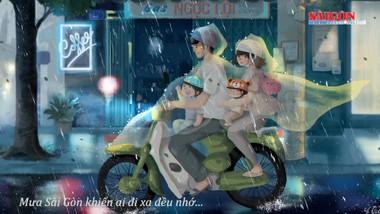 """""""Sài Gòn có mưa"""", một cách nhìn mới của giới trẻ"""