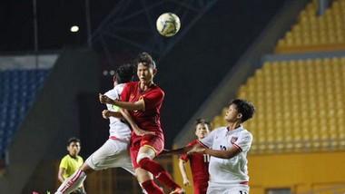 Việt Nam tiếp tục khẳng định sức mạnh trước Myanmar. Ảnh: Đoàn Nhật