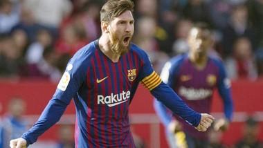 Lionel Messi đã bừng sáng để giúp Barca tiến đi mạnh mẽ trở lại. Ảnh: Getty Images