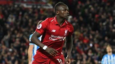 Sadio Mane trong màu áo Liverpool