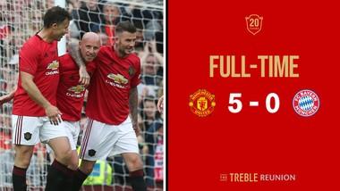 Huyền thoại Manchester United - Huyền thoại Bayern Munich 5-0
