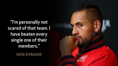 Sự tự tin có cơ sở của Kyrgios