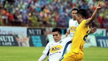 SLNA thắng cách biệt 3-0 trước HA.GL trên sân nhà. Ảnh: MINH HOÀNG