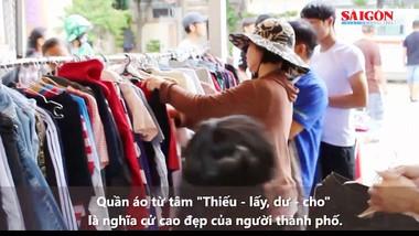 Quần áo từ tâm: Thiếu - lấy, dư - cho