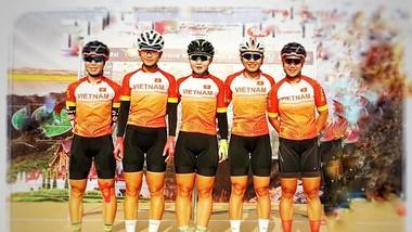 Đội tuyển xe đạp Việt Nam đại thắng ở Trung Quốc.