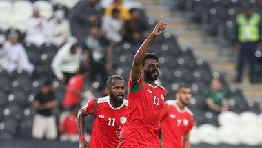 Oman giành vé vào vòng 1/8 ờ phút bù giờ. Ảnh: AFC