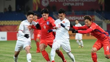 Cuộc so tài giữa Việt Nam và Hàn Quốc có thể lùi sang năm 2020. Ảnh ĐOÀN NHẬT