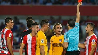 Griezmann có trận đấu thất vọng trước Girona.