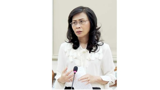 Phó Chủ tịch UBND TPHCM Nguyễn Thị Thu. Ảnh: THU TÂM
