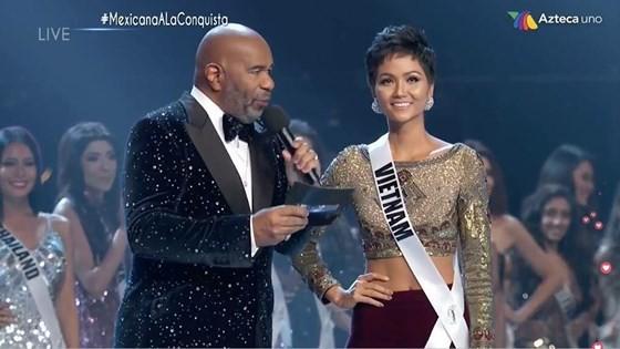 Lần đầu tiên trong lịch sử: H'Hen Niê vào Top 5 Hoa hậu Hoàn vũ