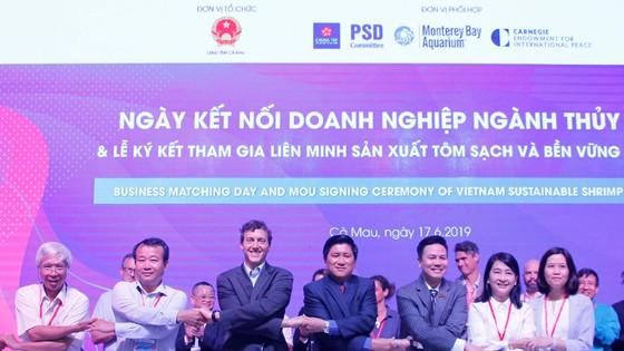 """Các """"ông lớn"""" ngành tôm tham gia liên minh sản xuất tôm sạch và bền vững Việt Nam"""