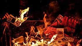 Việc đốt tiền vàng mã có vi phạm pháp luật?
