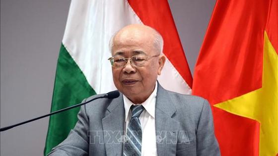 Ông Lê Minh Triết, Chủ tịch Hội hữu nghị Việt Nam - Hungary TPHCM. Ảnh: TTXVN